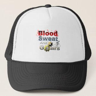 血の汗およびギア キャップ