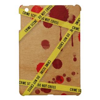 血の犯罪現場のiPad Miniケース iPad Miniケース