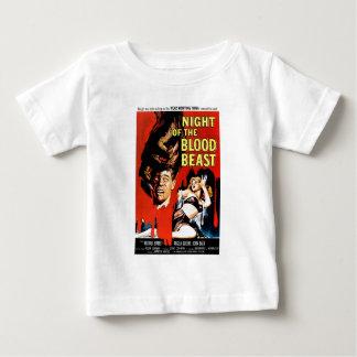 血の獣の夜 ベビーTシャツ