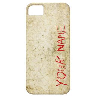 血の石造りの質のカスタムな電話箱 Case-Mate iPhone 5 ケース