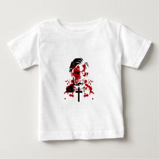 血の英雄アブラハムリンカーン ベビーTシャツ