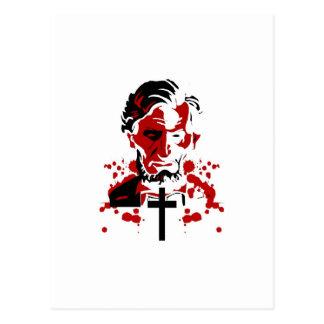 血の英雄アブラハムリンカーン ポストカード