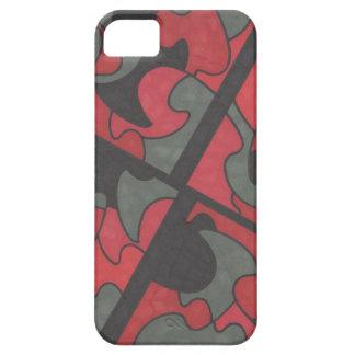 血の起源の抽象デザイン iPhone 5 COVER