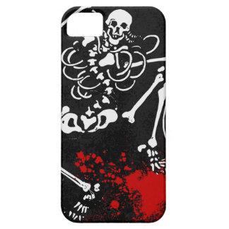 血の骨組 iPhone 5 ベアリーゼアケース