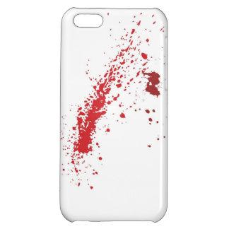 血の(ばちゃばちゃ)跳ねるのIphone 5の場合 iPhone 5C Case
