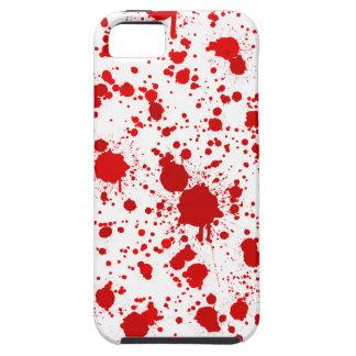 血の(ばちゃばちゃ)跳ねる…デキスターはこれのために殺します iPhone 5 ケース