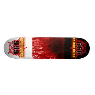 血の(ばちゃばちゃ)跳ねる、newlogo カスタムスケートボード