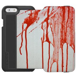血のiPhoneの場合 Incipio Watson™ iPhone 6 ウォレットケース