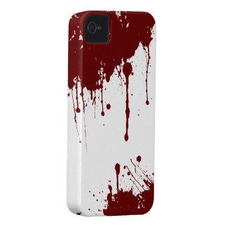 血のiPhone 4のやっとそこに穹窖の箱 Case-Mate iPhone 4 ケース