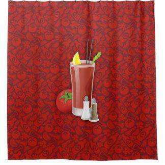 血メリー シャワーカーテン