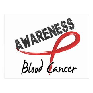 血液の癌の認識度3 ポストカード