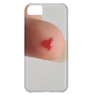 血液検査のハート iPhone 5C ケース