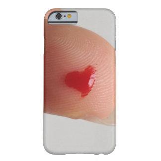 血液検査のハート iPhone 6 ベアリーゼアケース