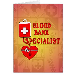 血液銀行の専門家 カード