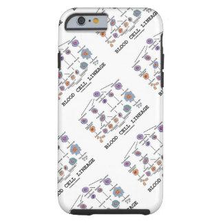 血球血統(生物学の健康の薬) iPhone 6 タフケース