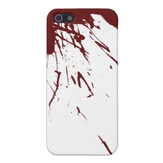 血 (ばちゃばちゃ)跳ねる 設計 iPhone 5 CASE
