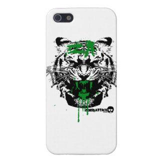 血|トラ|攻撃 iPhone 5 CASE