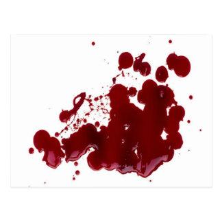 血 ポストカード