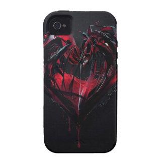 血 ロマンス VIBE iPhone 4 カバー