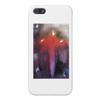血 十字 iPhone 5 カバー