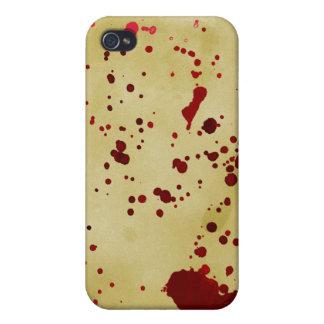 血 古い 紙 iPhone 4 CASE