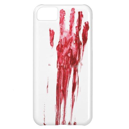 血 殺害 iPhone 5C CASE