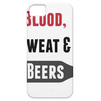 血、汗及びビール iPhone 5 COVER