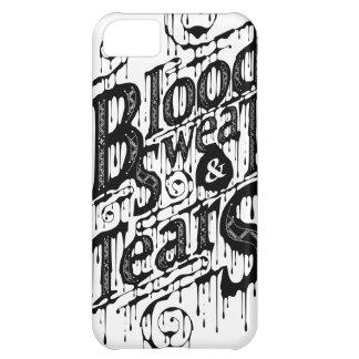 血、汗、及び破損- Iphone 5Cの場合(白い) iPhone 5C ケース