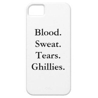 血。 汗。 破損。 GHILLIES. iPhone 5/5Sの場合 iPhone 5 カバー