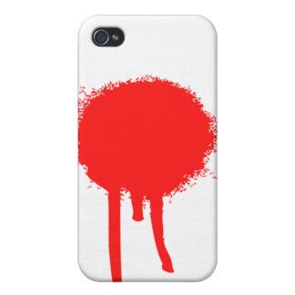 血|点|iPhone|場合 iPhone 4 ケース