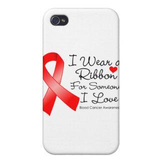 血 蟹座 リボン 誰か I 愛 iPhone 4 COVER