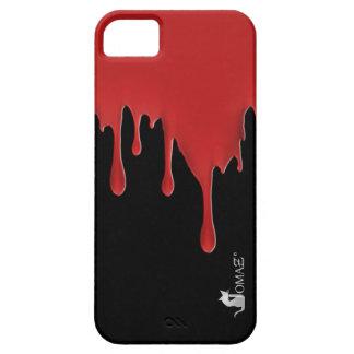 血 赤い 滴り iPhone 5 ケース