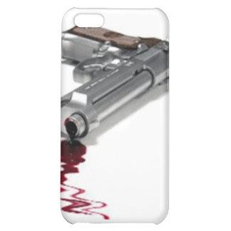 血 銃 iPhone 5C カバー