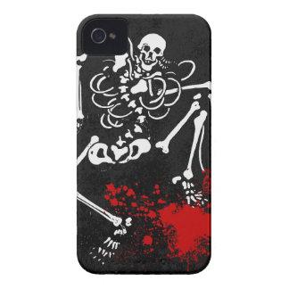 血|骨組 iPhone 4 カバー