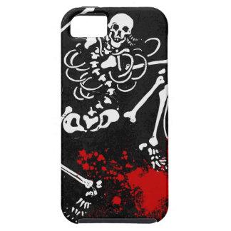 血 骨組 iPhone 5 カバー