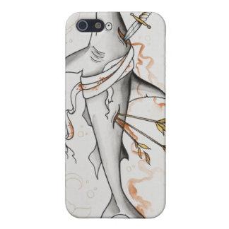 血 鮫 iPhone 場合 iPhone 5 Case