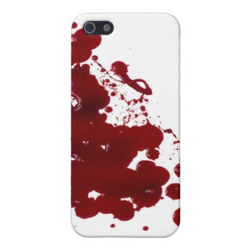 血 iPhone 5 ケース