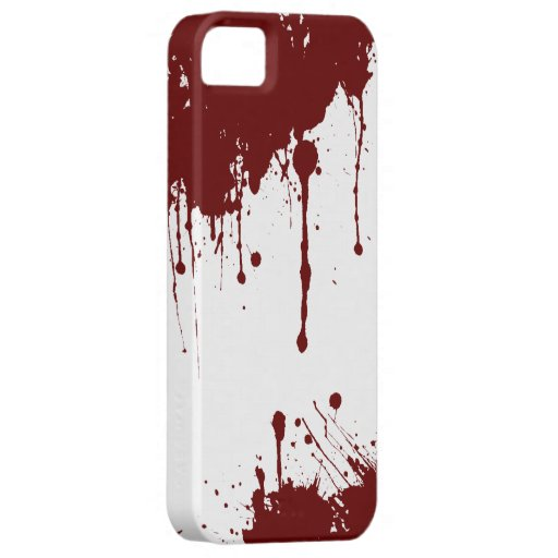 血 iPhone 5 やっと そこに 穹窖 場合 iPhone 5 Case-Mate ケース
