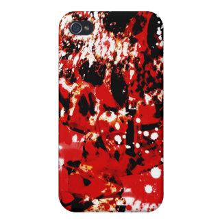 血 Skully Iphone 4 iPhone 4/4S カバー