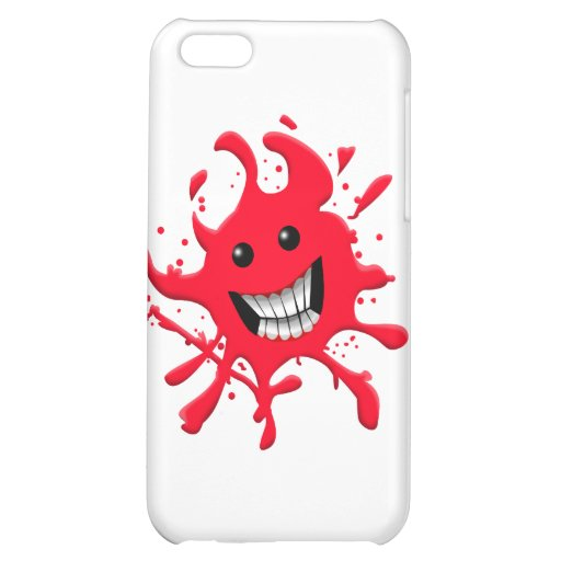 血 Splat iPhone5Cカバー