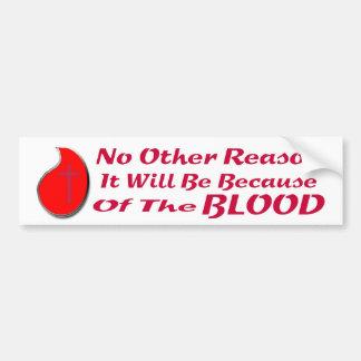 血BSのLTのために バンパーステッカー