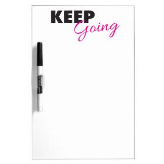 行くことを-感動的なトレーニングの発言保って下さい ホワイトボード