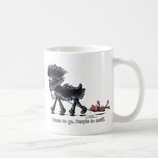 行くアーフェンピンシャーの場所 コーヒーマグカップ