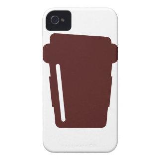 行くコーヒーカップ Case-Mate iPhone 4 ケース