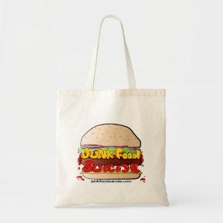 行くハンバーガーJFSのロゴ トートバッグ