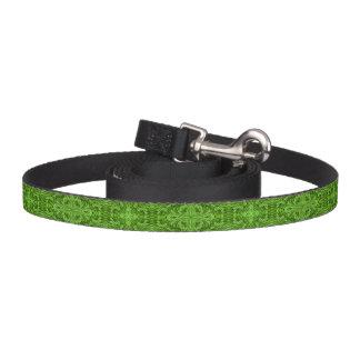 行く緑の万華鏡のように千変万化するパターンの    犬用リーシュ ペットリード