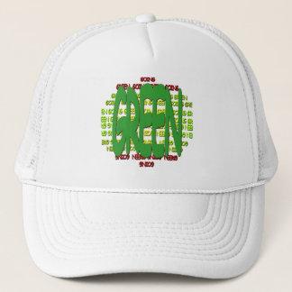 行く緑の帽子 キャップ