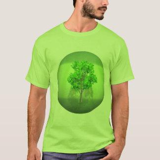 行く緑 Tシャツ