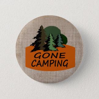 行ったキャンプの屋外スポーツ 缶バッジ