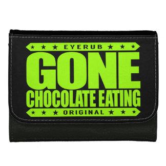 行ったチョコレート食べ物-私に野蛮な甘党があります ウォレット